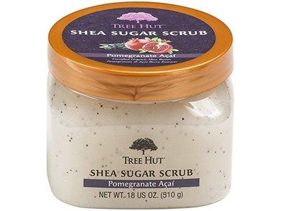 Tree Hut Shea Sugar Scrub, Pomegranate Acai, 18 oz