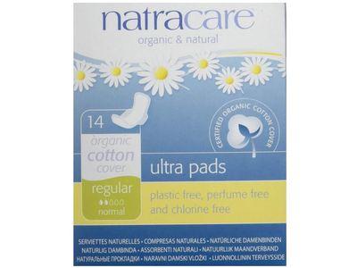 Natracare Ultra Pads, Regular, 14 ct