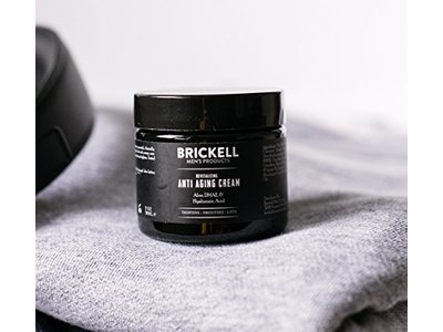 Brickell Men's Revitalizing Anti-Aging Cream For Men, Natural & Organic Anti Wrinkle Night Face Cream - 2 oz - Scented - Image 4
