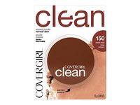 Covergirl Clean Pressed Powder, Creamy Beige (150), 11g - Image 2