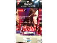 Schwarzkopf Keratin Color Anti-Age Hair Color Cream, 4.0 Cappuccino - Image 5