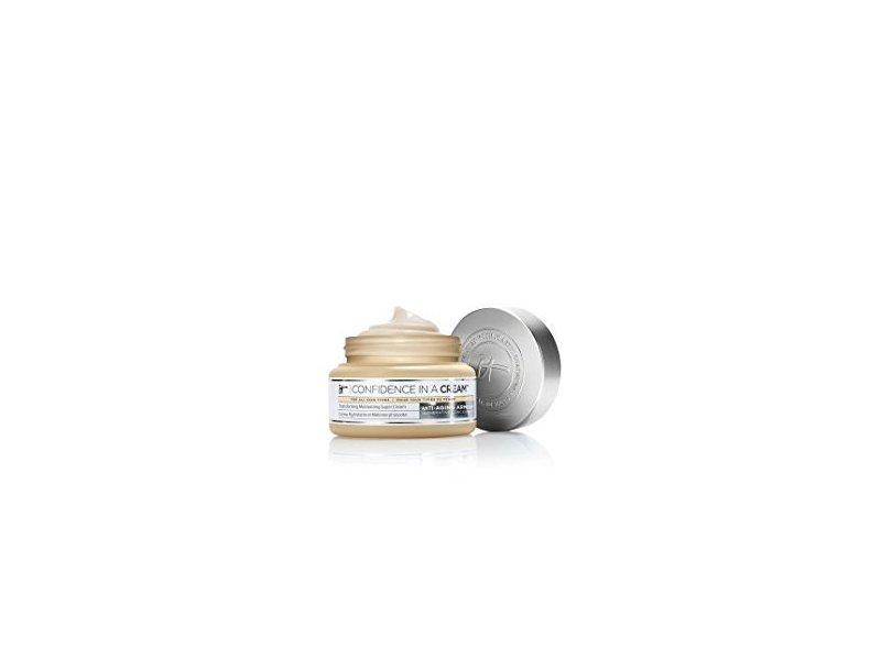 IT Cosmetics Confidence In A Cream Super Cream Deluxe, Travel Size .5 oz