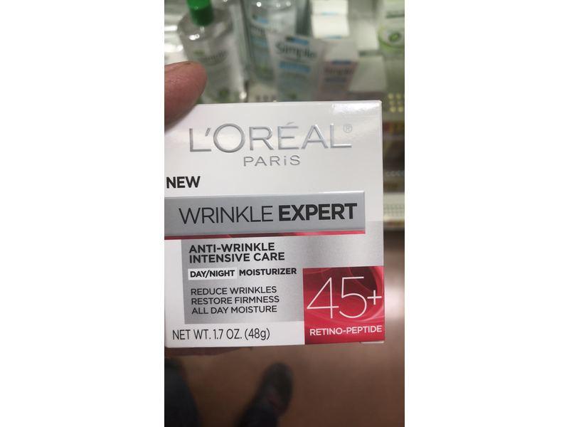 L'Oreal Paris Skin Care Wrinkle Expert 45+ Moisturizer, 1.7 oz