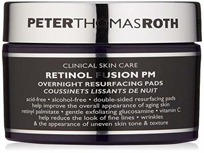 Peter Thomas Roth Retinol Fusion PM Overnight Resurfacing Pads, 30 ct