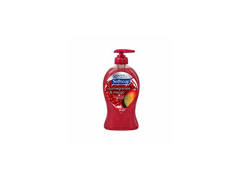 Softsoap Liquid Hand Soap, Pomegranate & Mango, 11.25 fl oz
