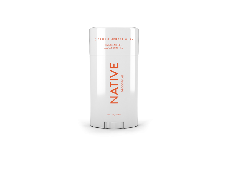 Native Deodorant, Citrus & Herbal Musk, 2.65 oz