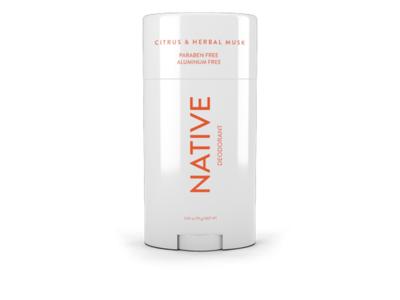 Native Deodorant, Citrus & Herbal Musk, 2.65 oz