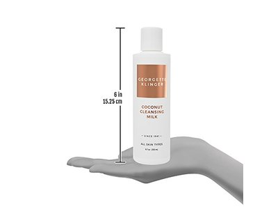 Georgette Klinger Coconut Facial Cleansing Milk Sulfate Free Daily Face Cleanser for All Skin Types - Image 7