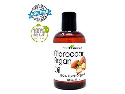 100% Pure Organic Moroccan Argan Oil - 4oz