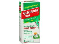 Absorbine Jr. Plus Pain Relieving Liquid Rapid Relief, 4 fl oz/118 mL - Image 2