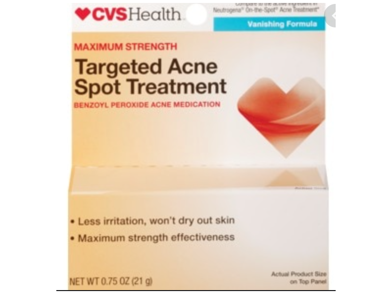CVS Health Acne Treatment Vanishing Formula