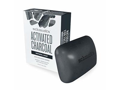 Schmidt's Activated Charcoal Bar Soap Male Set, 5 oz