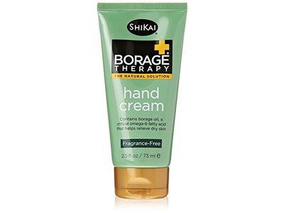 ShiKai Borage Therapy Hand Cream, Unscented, 2.5 fl oz