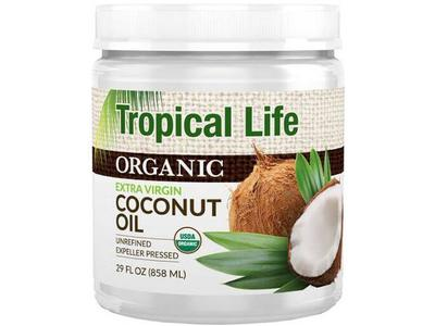 Topical Life Organic Coconut Oil - Image 1
