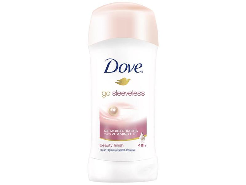 Dove Go Sleeveless Antiperspirant & Deodorant, Beauty Finish
