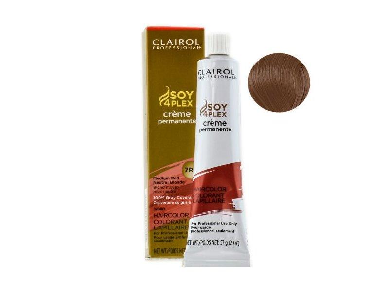 Clairol Professional Premium Creme 7rn Medium Red Neutral Blonde