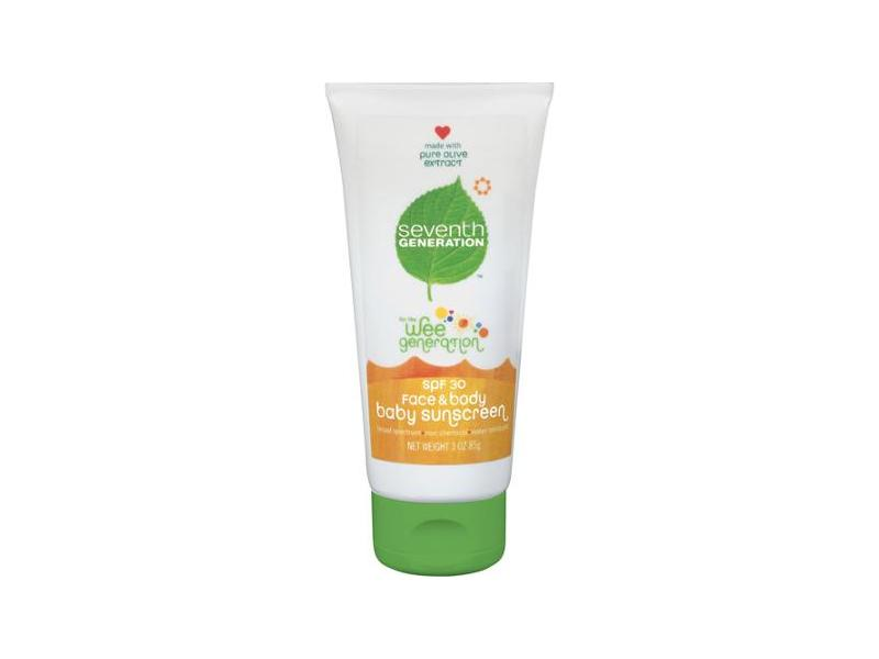 Seventh Generation Baby Sunscreen SPF 30