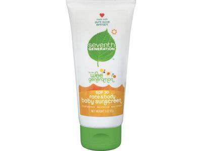 Seventh Generation Baby Sunscreen SPF 30 - Image 1