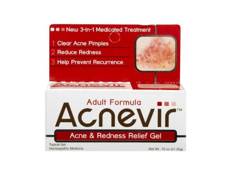 Acnevir Acne & Redness Relief Gel - 0.75 oz