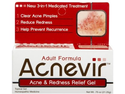Acnevir Acne & Redness Relief Gel - 0.75 oz