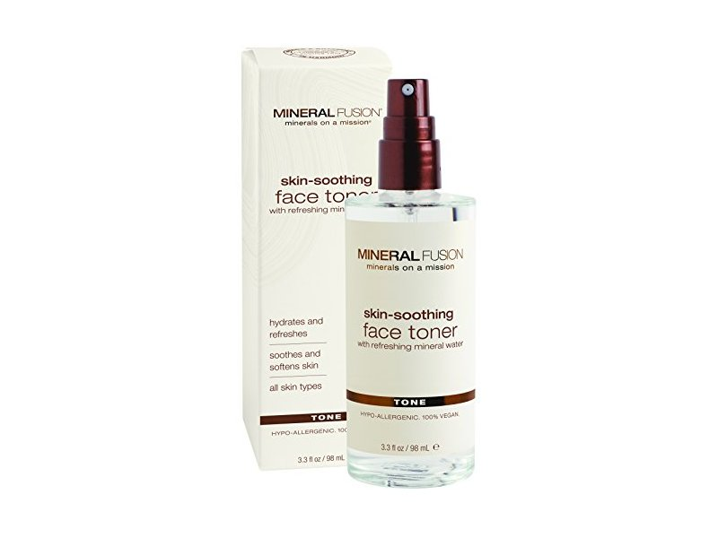 Mineral Fusion Natural Brands Skin Soothing Facial Toner, 3.3 fl. oz. / 98 mL.