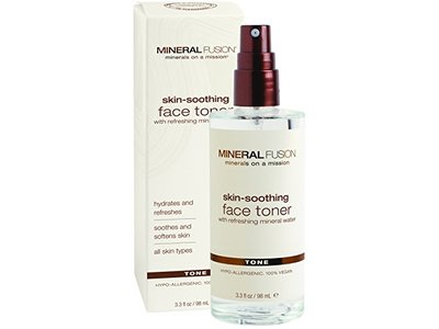 Mineral Fusion Natural Brands Skin Soothing Facial Toner, 3.3 fl. oz. / 98 mL. - Image 1