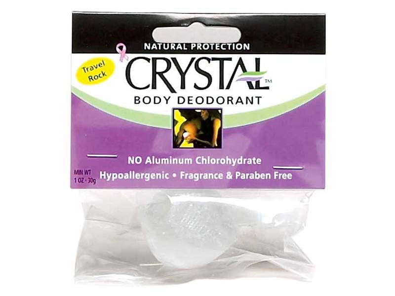 Crystal Body Deodorant Original Rock, 1 oz