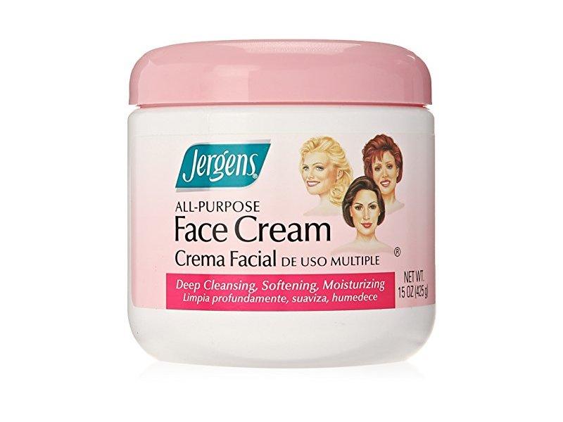 Jergens All-Purpose Face Cream, 15 oz
