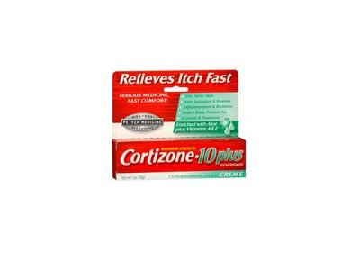 Cortizone-10 Maximum Strength 1% Hydrocortisone Anti- Itch Plus Ultra Moisturizing Creme, 1 oz