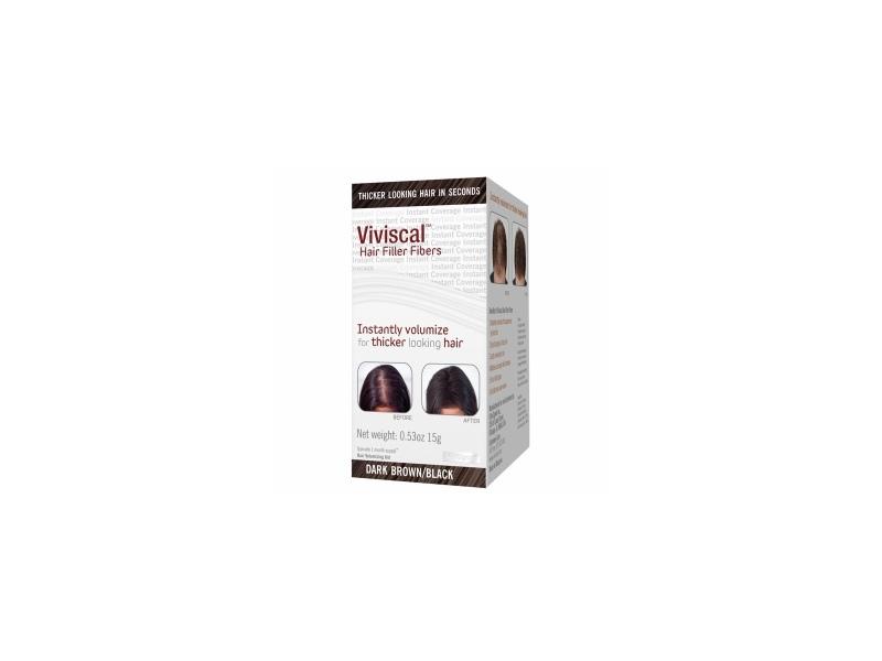Viviscal Hair Filler Fibers, Dark Brown/Black