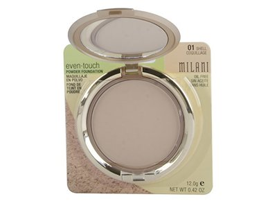Milani Even Touch Powder Foundation, Shell, 12g