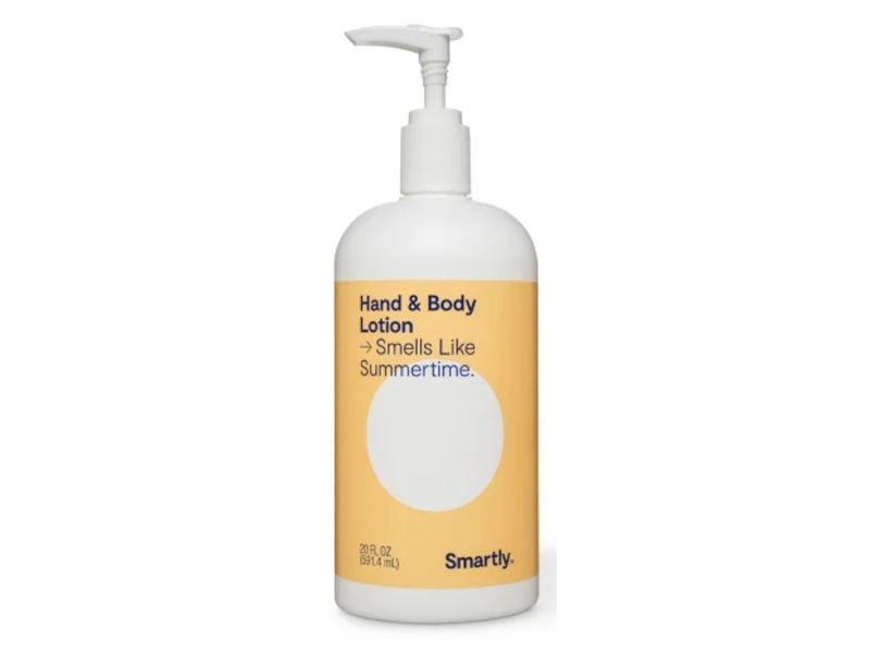 Smartly Hand & Body Lotion, Smells Like Summertime, 20 fl oz