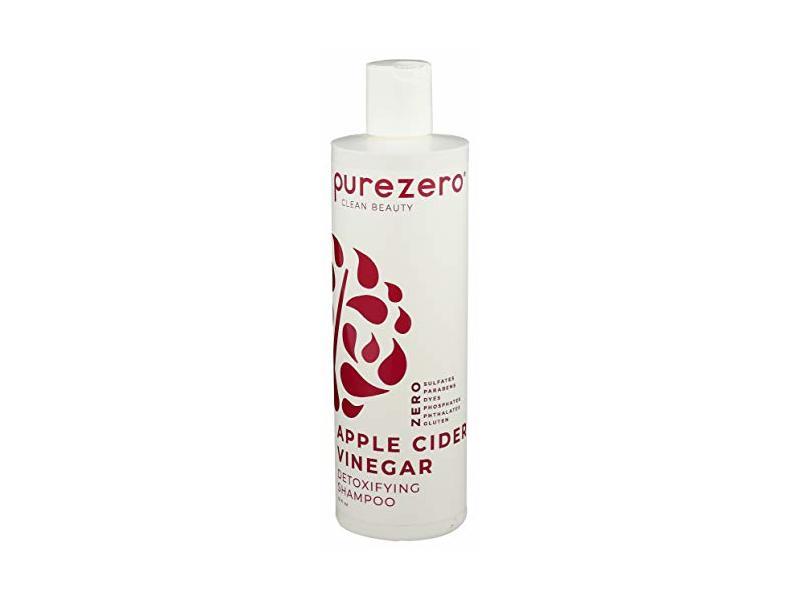 PUREZERO Apple Cider Vinegar Detoxifying Shampoo, 12 FZ