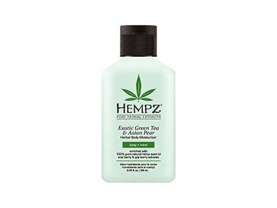 Hempz Exotic Herbal Body Moisturizer, Green Tea and Asian Pear, 2.25 Fluid Ounce - Image 1