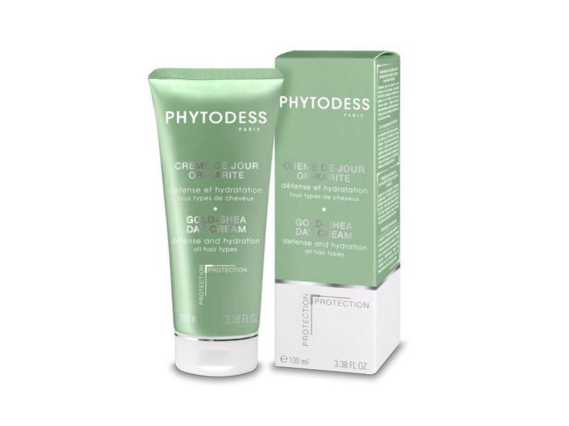 Phytodess Paris Gold-Shea Day Cream, All Hair Types, 3.38 fl oz
