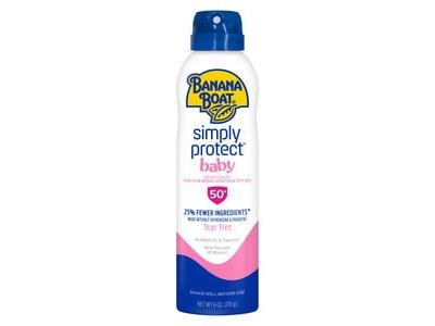 Banana Boat Simply Protect Baby Sunscreen Spray SPF 50+