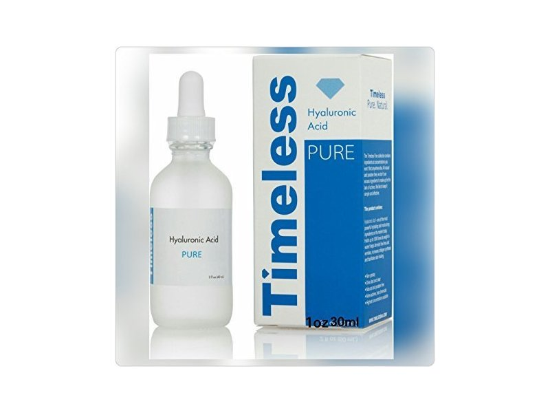 Timeless Pure Hyalronic Acid 1fl Oz 30 Ml.