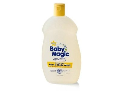 Baby Magic Hair & Body Wash, Soft Baby Scent, 16.5 OZ