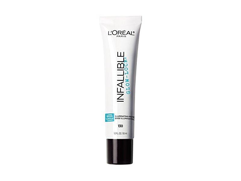 L'Oreal Paris Cosmetics Infallible Pro Glow Lock Primer, 1 Fluid Ounce