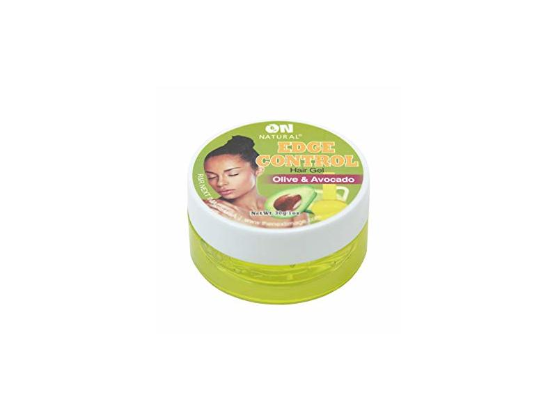 On Natural Edge Control Hair Colored Gel, Olive/Avocado, 1 oz