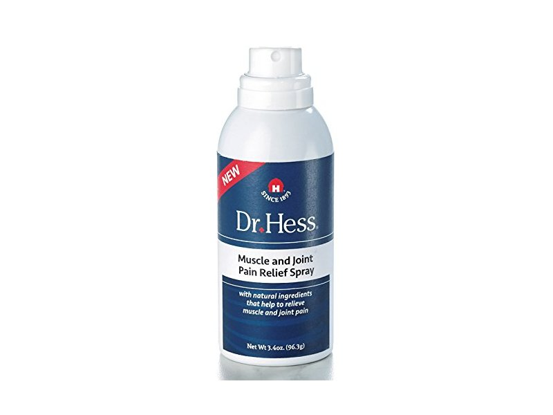 Dr Hess Muscle & Joint Relief Spray, 3.4 Ounce
