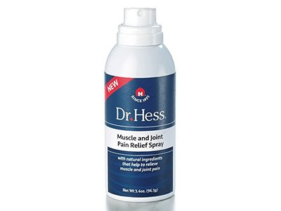 Dr Hess Muscle & Joint Relief Spray, 3.4 Ounce - Image 1