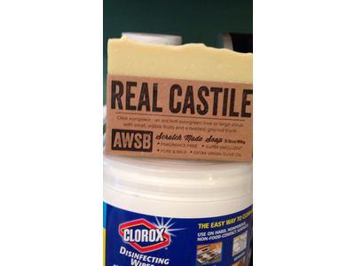 A Wild Soap Bar Real Castile Bar Soap (1 pack) - Image 3