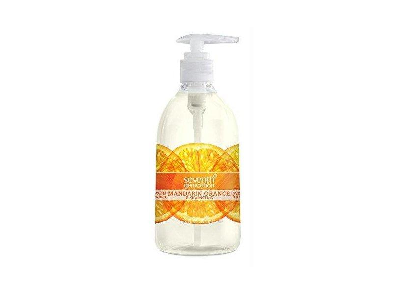 Seventh Generation Natural Hand Wash, Fresh Citrus, 12 fl oz
