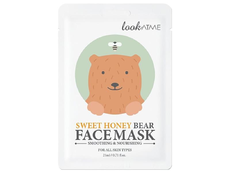 Look At Me Sweet Honey Bear Facemask, 0.71 fl oz/21 mL