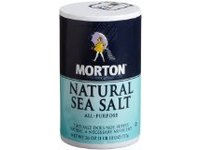 Morton Natural Sea Salt, 26 oz - Image 2