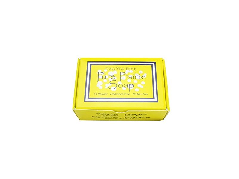 Dakota Free Pure Prairie Soap (with Shea Butter), 4.5 oz