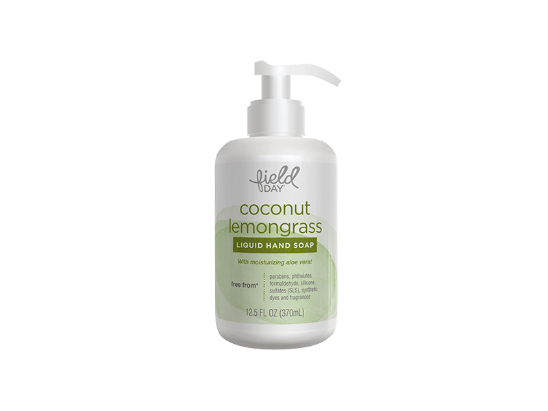 Field Day Coconut Lemongrass Liquid Hand Soap, 12.5 fl oz