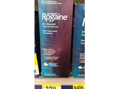 Rogaine for Women Hair Regrowth Treatment Foam, 2 Month Supply, 2.11 Ounce - Image 4