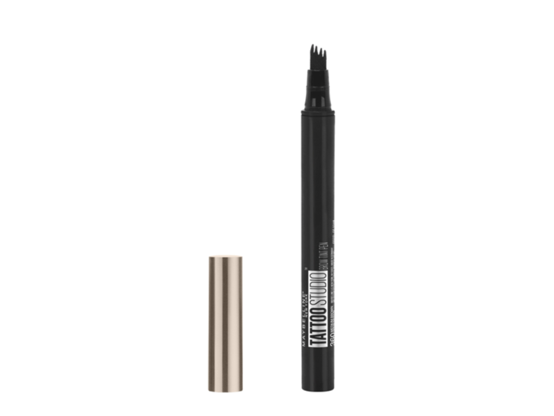 Maybelline Tattoostudio Brow Tint Pen, 350 Blonde, 0.034 oz (Pack of 2)